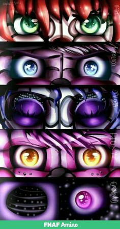 FNaF Sister Location Eyes