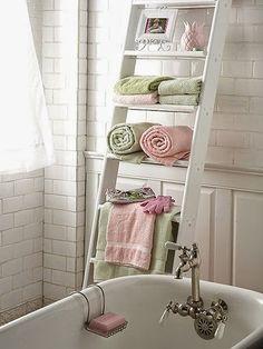inspiracje w moim mieszkaniu: Łazienkowy wieszak na ręczniki {Bathroom towel rac...