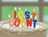 Humorous Birthday Candles