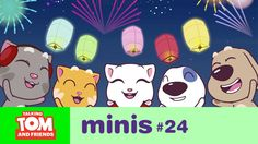 Talking Tom and Friends Minis - New Year's Wishes (Episode Tom S, More Fun, Things That Bounce, Wish, Told You So, Friends, Minis, Party Ideas, Google Search