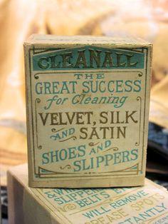 Vintage Cleanall packaging