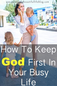 We all get busy with our daily lives. It can be hard enough balancing your marriage, kids, work, and house duties. So are you putting God first? See how you can keep God first.