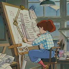 Aesthetic Art, Aesthetic Pictures, Aesthetic Anime, Studio Ghibli Art, Studio Ghibli Movies, Animes Wallpapers, Cute Wallpapers, Arte Fashion, Japon Illustration