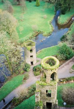 I want On top of Blarney Castle, Ireland to make kiss the blarney stone and make a wish for my grandpa!!