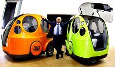 El vehículo que utiliza aire en lugar de combustible. Y funciona de verdad