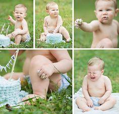 cute outdoor cake smash ideas  helendon.com