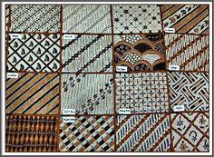 motifs of batik Garut, West Java, Indonesia