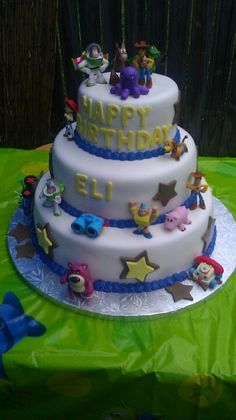 3 Tier Toy Story Cake