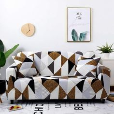 Stretch Slipcovers Sectional Elastic Stretch Sofa Cover for Living Room Couch Cover L shape Armchair Cover Single/Two/Three seat Sofa Cushion Covers, Couch Covers, Cushions On Sofa, Fabric Sofa, Pillow Covers, Throw Pillows, Old Sofa, Loveseat Slipcovers, Loveseat Sofa