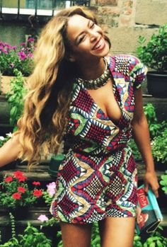 Beyonce on Vacation 2014