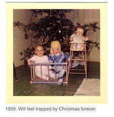 Strange vintage christmas