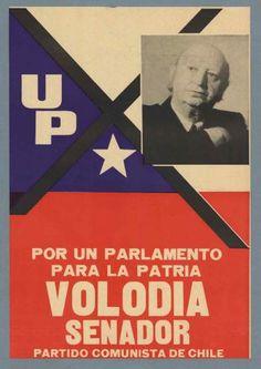 Volodia Teitelboim, Partido Comunista. Elecciones parlamentarias 1973