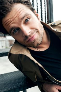 "sebbysebastianstan: "" His smile, his eyes  """