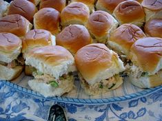 Chicken Salad on Hawaiian Rolls
