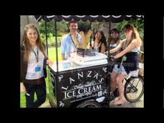 Lanza's Traditional Ice Cream - A premium supplier at  www.onestopweddingshopstaffordshire.co.uk Dessert Packaging, Retro Bicycle, Face Light, Special Events, Ice Cream, Traditional, Sherbet Ice Cream, Retro Bikes, Gelato