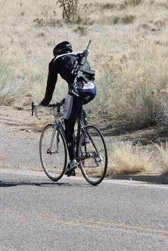 Alternative to bicycle lock.