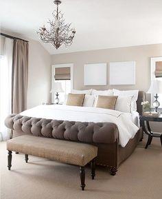 tracery interiors/ sherwin williams pearly white   paint colors i ... - Dalani Camera Da Letto