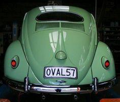 1957 VW Beetle #vintage #volkswagens #baroquenoise