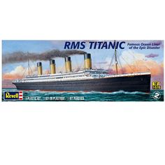Revell® Plastic Model Kit, RMS Titanic