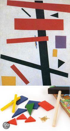 Malevich - Hamertje tik -  zoek de verschillen!