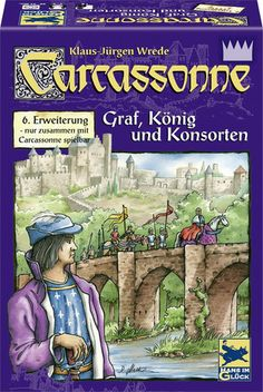 Carcassonne: Expantion 6: Count, King & Consort