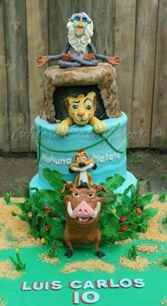 The Lion King - Cake by Adore Cake Decor