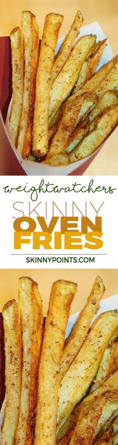 Skinny Oven Fries With Only 5 Weight Watchers Smart Points