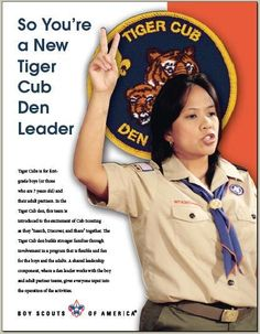 New Tiger Cub Leader--this would have been helpful in September.
