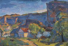 terminusantequem: Herbert Boeckl (Austrian 1894-1966) Blauer... My blog posts