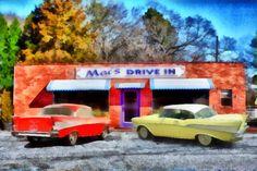 Mac's Drive In, between Pendleton and Clemson, SC.