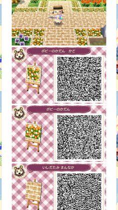 - Source by zauberkarinjasm - Animal Crossing Guide, Animal Crossing Qr Codes Clothes, Acnl Paths, Motif Acnl, Ac New Leaf, Happy Home Designer, Path Design, Motifs Animal, Animal Games