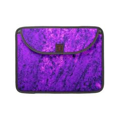 Purplish Pink Marble Sleeves For MacBook Pro    *This design is available on several other products.