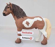 Schleich Exclusive - Tinker Stallion - Liver Chestnut Pinto 7e164274eb5