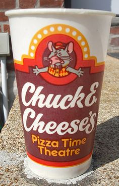Chuck E Cheese (Retro) Frequently eating at Chuck E. Cheese Pizzatime Theatre in Sacramento. I remember they had a fantastic salad bar which I loved (Back in the 80s) !