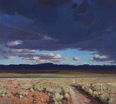 Shadowlands by Josh Elliott Oil ~ 30 x 33