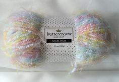Boucle Multi-Colored  Angel Hair BCAB-02 by Buttercream Luxe Craft  / Multi-Colored Boucle Angel Hair by dcoyshouseofyarn on Etsy