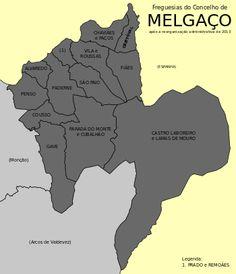 Freguesias do concelho de Melgaço