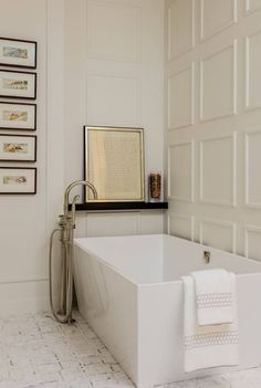 french Bathroom Decor Interior Design Portfolio by Nicole Hogarty Designs - Dering Hall - + bathro . Bad Inspiration, Decoration Inspiration, Bathroom Inspiration, Bathroom Ideas, Decor Ideas, Decorating Ideas, Decorating Websites, Bathroom Designs, Bathroom Organization