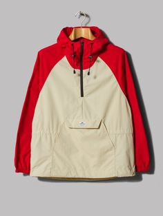 Penfield Pac Jac Packable Jacket (Red / Tan)