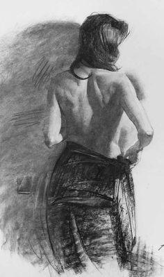 Female Back Figure By Chris Petrocchi