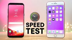 Galaxy S8 vs. iPhone 7 Plus: speed test, It's not even close. Galaxy S8 vs. iPhone 7 Plus: speed test, It's not even close.  Each year when new flagship Android phones are released, tech fans scratch their heads as they fail to best Apple's iPhones. On paper, iPhones have much less impressive specs, and yet Apple always manages to deliver the smoothest possible user experience time and time again...  #GalaxyS8 #UnboxYourPhone #Concours #Samsung #RT #GalaxyS8Plus #CdiscountOffreMoiUnGalaxyS8