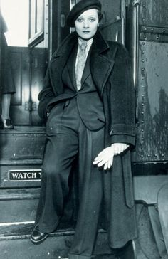 Marlene Dietrich #Androgyny