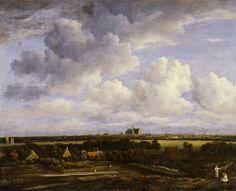 Jacob van Ruisdael - The Bleeching Grounds near Haarlem