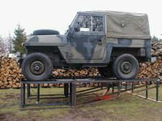 Car Ramp Plans UK. Military Landrover