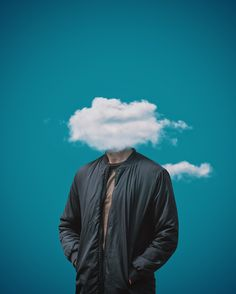 """Get your head out of the clouds."" by Rolands Zilvinskis / photography, surreal photography, surreal art, surrealism, design, graphic design, art, digital art, conceptual photography, fine art photography, street photography, image editing, photoshop, photo manipulation, creative ideas, imagination, creativity"