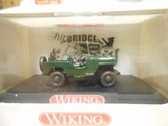 Wiking-Willys-MB-Jeep-US-Military-H0-1-87-50-Years-AIR-BRIDGE-Berlin-Collector