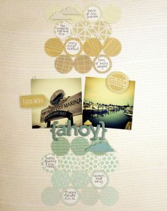 layout featuring HEYDAY by @Kinsey Keeling Wilson