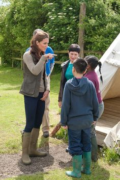 Kate Middleton causes massive rise in sales of Le Chameau wellies