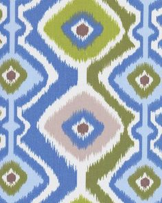 Ikat Mesa Light Blue Sky, Ikat Fabric