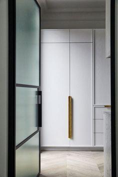 Kitchen Interior, Kitchen Design, Bathroom Interior, Kitchen Ideas, Rebecca Judd, Spanish Colonial Homes, Armelle, Reeded Glass, Sweet Home